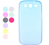 Durable Plastic Samsung Mobile Phone Back Covers for Galaxy I9300(9 Colors)