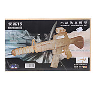 Carbine 15 DIY Wooden 3D Puzzle Jigsaw Construction Kit (Model:G-P109)