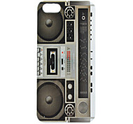 Retro Radio Pattern Hard Case for iPhone 5/5S