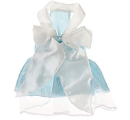 Dog Dresses - XS / S / M / L - Summer - Blue - Wedding - Cotton