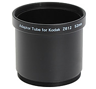 52mm Lens and Filter Adaptor Tube for Kodak Z612/Z712/Z812 Black