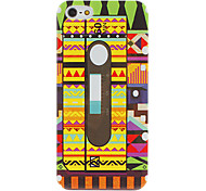 Colorful Tape Pattern Hard Case for iPhone 5/5S