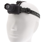 GTQQ 6611A Focus Adjustable 3-Mode Cree XML-T6 LED Headlamp (1000LM, 3xAAA)