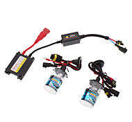 12V 35W H4-1 HID Xenon Lamp Conversion Kit Set (AC 12V Slim Ballast)