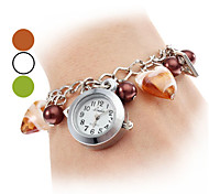 Women's Alloy Plastic Analog Quartz Bracelet Watch (Assorted Colors)
