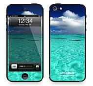 "Codice Da ™ Pelle per iPhone 4/4S: ""Ocean e Sunshine"" (Nature Series)"