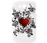 Heart-Shaped Pattern Hard Case für Samsung Galaxy I9082 Große Duos