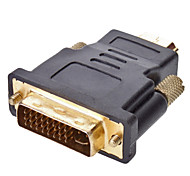 DVI 24+5 to HDMI M/M Adapter for HDMI V1.3/V1.4