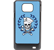 Cartoon schedel patroon Hard Case voor Samsung Galaxy S2 I9100