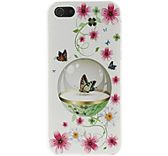 Colorful Butterfly Pattern Hard Case for iPhone 5/5S
