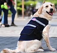 Cani Zaino Nero Abbigliamento per cani Primavera/Autunno Jeans Cowboy