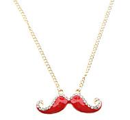 Moustache Diamond Necklace