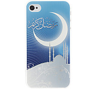 Moon Pattern Hard Case voor iPhone 4/4S