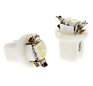 Автомобиль белый 0.5W SMD 3528 6000-6500 Лампа подсвета приборной доски