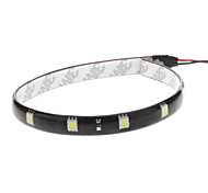 30 centímetros 2.5W 12x5050SMD White LED Light Strip de Instrumento / Licença Car Lamp Plate (12V)