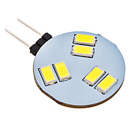 Luces LED de Doble Pin G4 1.5W 6 SMD 5630 150 LM Blanco Natural AC 12 V