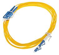 cabo de fibra óptica, lc / sc-upc, monomodo, duplex - 3 metros (9/125 de tipo)