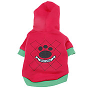 Bow Wow Style Cotton Hoodies for Dogs (XS-L)