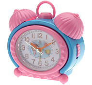 "2.5"" Children Style Analog Desktop Alarm Clock (Random Color, 2xAA)"