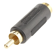 1RCA to S-Video M/F Adapter