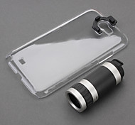 Optical 8X Zoom Telescope Camera Lens Manual Focus with Hard Back Case for Samsung Galaxy Note 2 N7100