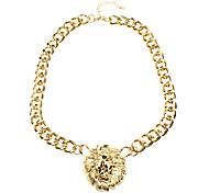 Lion Head Shaped Necklace