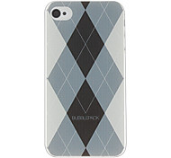 Grid Pattern Hard Case für iPhone 4/4S