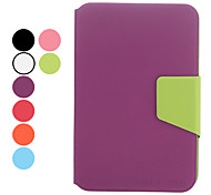 Litchi Grain Full Body Case with Stand and Card Slot for Samsung Galaxy Note 7.0 N5100 (Assorted Colors)
