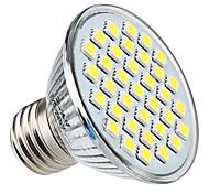 Spot Lampen PAR E26/E27 4 W 350 LM 6000K K 35 SMD 5050 Natürliches Weiß AC 220-240 V