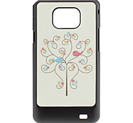 Bird Pattern Hard Case for Samsung Galaxy S2 I9100