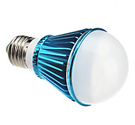 E26/E27 7 W 7 High Power LED 630 LM Warm White A Dimmable Globe Bulbs AC 220-240 V