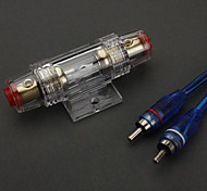 Kit de Alto Rendimiento Twisted Conductor Interconnect Amplificador de instalación para vehículos (tipo de espesor)