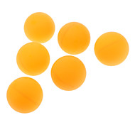 Three-Star Durable World-class Table Tennis Ball for Top Tournament(6 PCS,Orange)