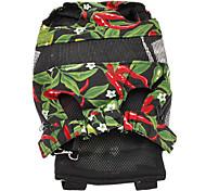 6 Holes Type Pod Pepper Pattern Nylon Pet Travel Backpack for Dogs