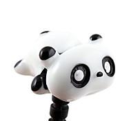 3.5mm Cartoon Cute Stereo Lazy Panda Pattern Anti-dust Plug