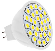 5W GU5.3(MR16) Spot LED MR16 30 SMD 5050 420 lm Blanc Naturel DC 12 V