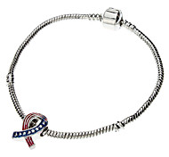 Bracelet Chain Bracelet Alloy / Zircon Love Casual Jewelry Gift Silver