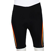 KOOPLUS® Cycling Padded Shorts Men's Bike Breathable / Wearable / Reflective Strips / 4D Pad Shorts / Bottoms 100% Polyester Solid