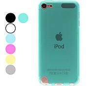 Solid Color Fosco Hard Case para iPod Touch 5 (cores sortidas)