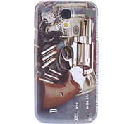 Gun Pattern Hard Case for Samsung Galaxy S4 I9500