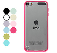 Transparente Fosco Hard Case para iPod Touch 5 (cores sortidas)