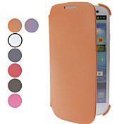 PU Leather Full Body Case for Samsung Galaxy S3 I9300 (Assorted Colors)