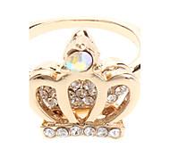 Crown voller Diamant Ring