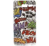 Scrawling Pattern Hard Case for Moto RAZR I XT890