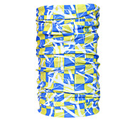 Outdoor Sports Bike Protective Yellow and Blue Kerchief