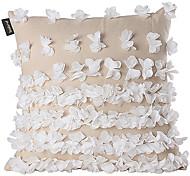 Broderie floral Linge de maison Housse de coussin décoratif