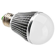 7W E26/E27 LED Globe Bulbs A60(A19) 7 High Power LED 630 lm Natural White Dimmable AC 220-240 V