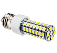 E26/E27 6W 63 SMD 5050 550 LM Natural White T LED Corn Lights AC 220-240 V