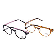 Women's Transparent Lens Cat Eye Eyeglasses (Random Color)