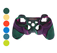 Protective Dual-Color Silicone Case for PS3 Controller